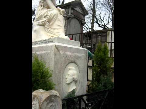 Cimetière du Père-Lachaise Paris   Frédéric Chopin