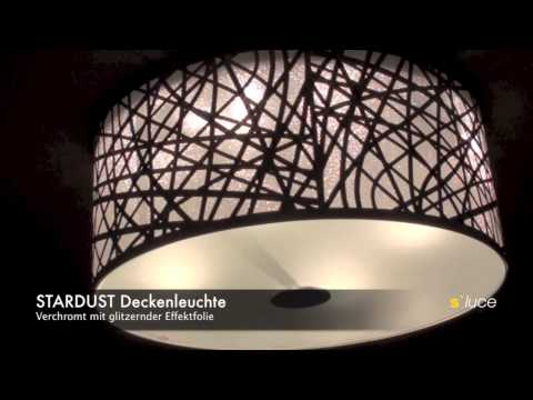 full download s luce stardust deckenleuchte chrom mit. Black Bedroom Furniture Sets. Home Design Ideas