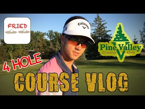 Pine Valley 4 Hole Course Vlog