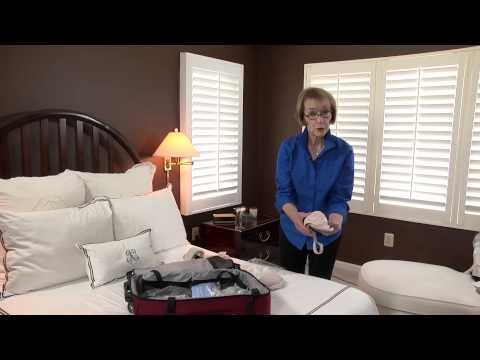 How to Fold a Bra to Pack in a Suitcase : Smart Packing & Travel Tips