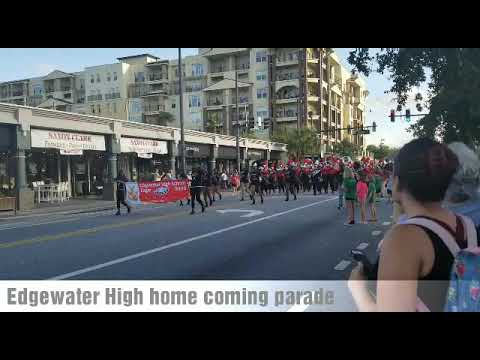 Edgewater High School Home Coming Game Parade  2018- Orlando FL