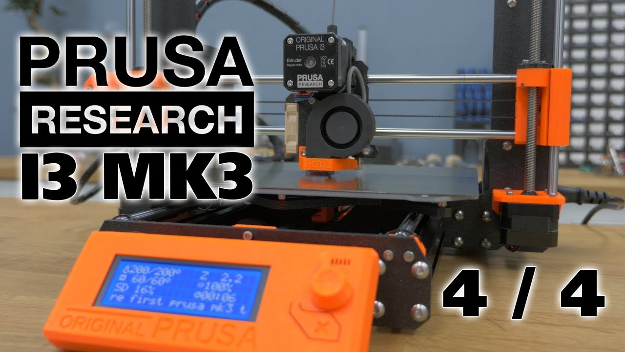 Prusa MK3 Full Assembly - Finishing the build! (Timestamps in ...