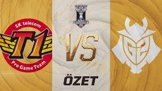 SK Telecom T1 ( SKT ) vs G2 Esports ( G2 ) 1. Maç Özeti | Worlds 2019 Yarı Final