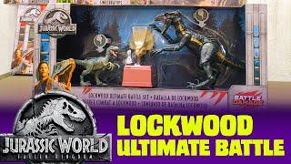 Jurassic World Lockwood Ultimate Battle Set Review y Battle Damage Monolophosaurus Fallen Kingdom