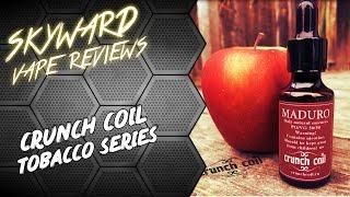 видео Обзор жидкостей Crunch Coil. Серия Tobacco