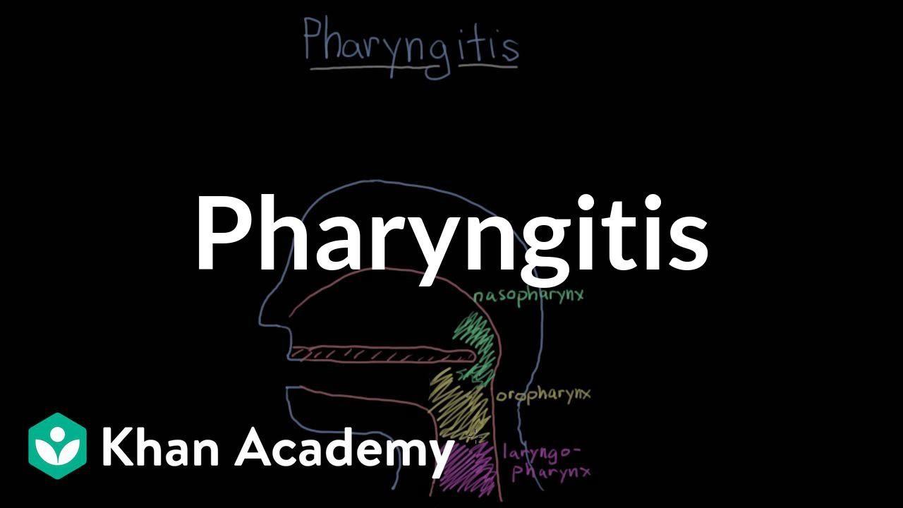 Pharyngitis (video) | Throat conditions | Khan Academy