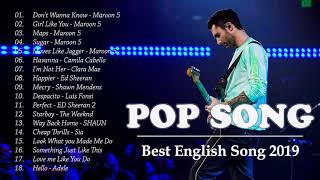 Maroon 5, Westlife, Shayne Ward, ED Sheeran | Love Songs Playlist | Best Pop Songs Playlist 2019