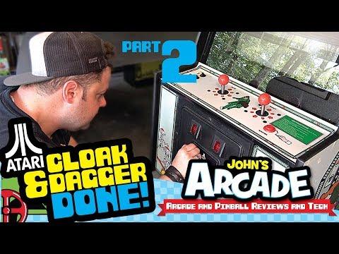 Done! Atari Cloak & Dagger Arcade Restore Part 2
