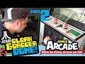 watch he video of Done! Atari Cloak & Dagger Arcade Restore Part 2