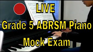 Gambar cover 🔴 LIVE Grade 5 ABRSM Piano - Mock Exam - Angel