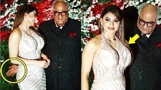 Boney Kapoor MISBEHAVES With Urvashi Rautela CAUGHT On Camera!
