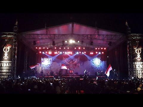 Power Metal - Indonesia Raya, Penguasa  Live at K666 Metal Fest #59 Stadion Pajajaran Bogor