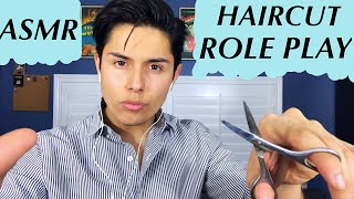 [ASMR] Italian Barber Role Play! (Haircut & Tingles!)