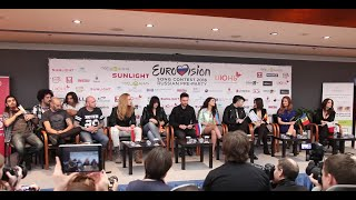 Sergey Lazarev.Press Conference in Moscow.Russian Pre-Party Eurovision 2016