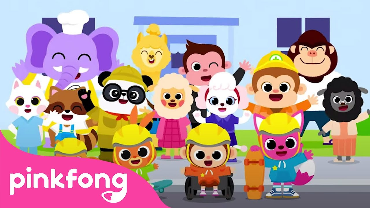 🎵Job ABCs | Alphabet Occupations | Job Songs for Kids |  Pinkfong Songs for Kids