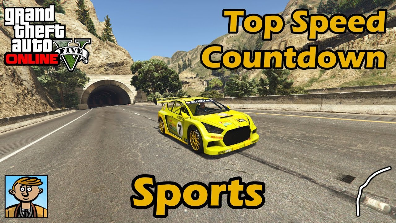 Fastest Sports Cars (2018) - GTA 5 Best Fully Upgraded Cars Top Speed  Countdown