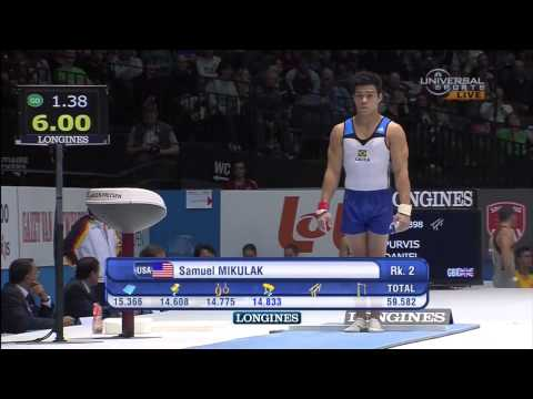 Men's Artistic Gymnastics AA Final Antwerp 2013 World Championship