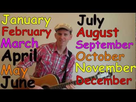 Months of the Year Song  Learn English Kids