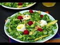 Lamb's Lettuce with Goat Cheese (Low-Carb Recipe)