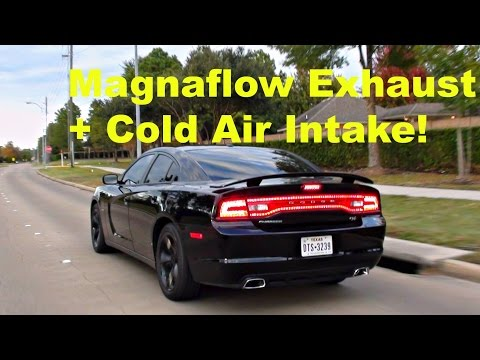 Dodge Charger R/T Magnaflow Exhaust w/ Cold Air Intake