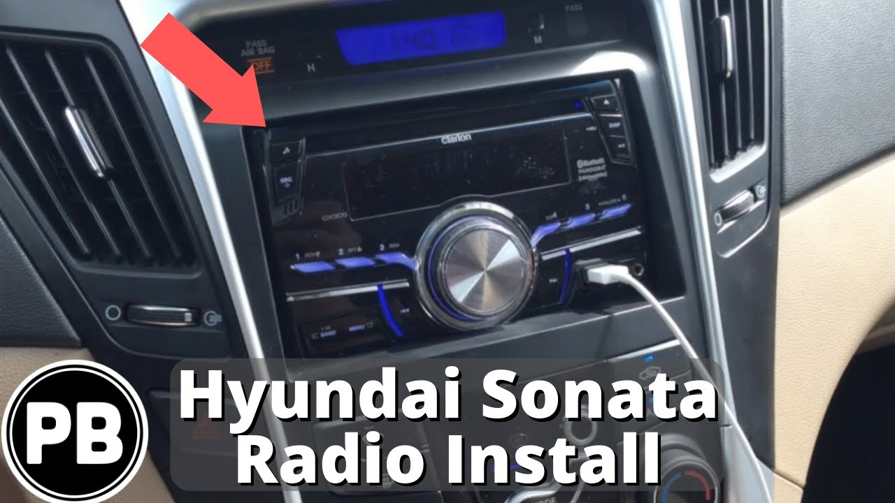 maxresdefault 2011 2013 hyundai sonata clarion cx305 stereo install youtube  at n-0.co