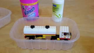 De-Yellowing Solution to restore vintage Lego Bricks | Obrick-Wan