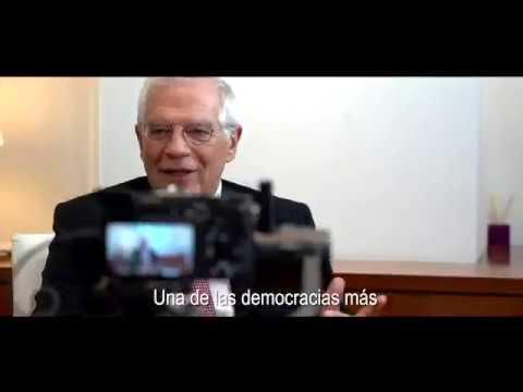 Vídeo del Gobierno sobre la democracia en España