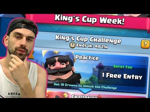 OSVOJEN PRVI KINGS CUP CHALLENGE! · Clash Royale