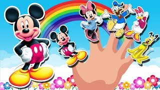 Mickey Mouse Clubhouse Finger Family Song   Nursery Rhymes   K…