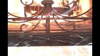 (fireplace Screen Doors) Custom Decorative (fire Place Screens) Firescreens