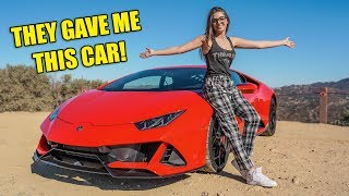 LAMBORGHINI GAVE ME THE 2020 HURACAN EVO AND IT HAS CHANGED MY LIFE