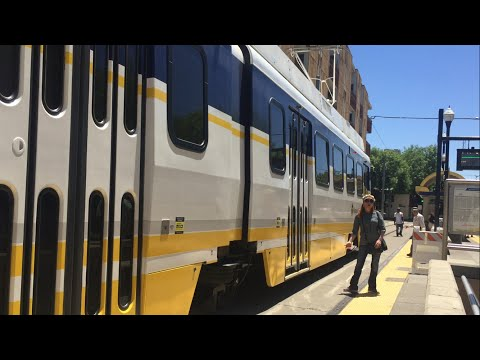 Sacramento Light Rail Blue Line UTDC Test Train, Alkali Flat/La Valentina Statio, SACRT 309 Released