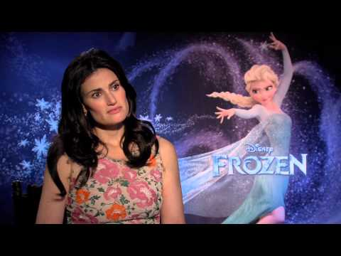 "Frozen: Idina Menzel, voice of ""Elsa"" Official Movie Interview"