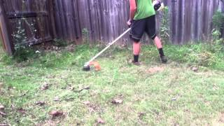 June Mowing Video with Toro 37 an New Stihl Trimmer