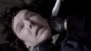 Sherlock STRANGLED! - Sherlock - BBC
