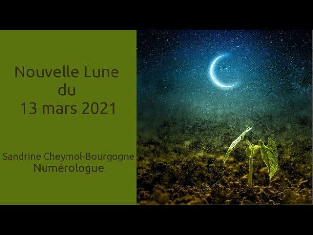 Nouvelle lune du 13/03/2021 en numérologie