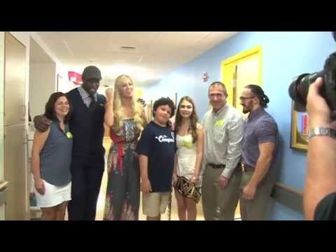 Titus O'Neil Talks Importance Of His Charitable Work