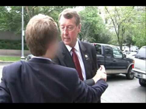 Congressman Assaults Student on Washington Sidewalk