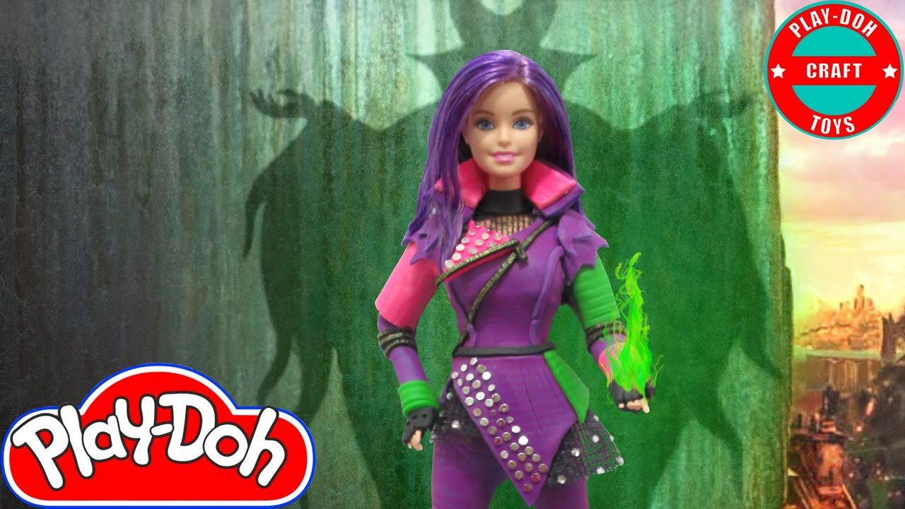 Play Doh Mal Descendants Inspired Costume