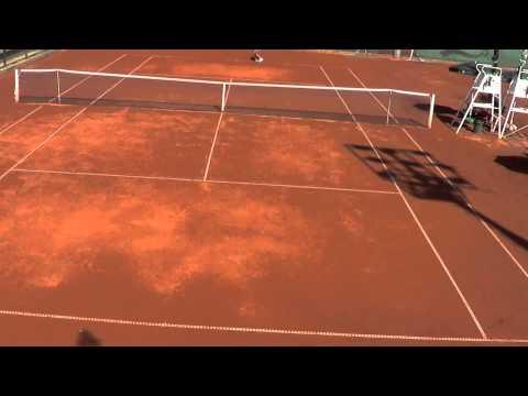 Bulgarian National Tennis Tournament 2013 Dani lost against #1 girl