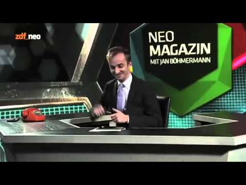 Video Neo magazin wetten dass