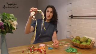 Как сплести венок из искусственных цветов своими руками - Надежда Азаматова