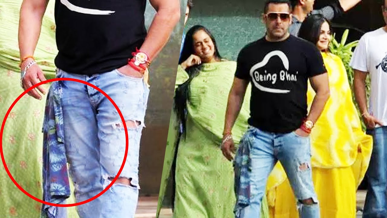 Salman Khan Carries His Favorite BEING HUMAN T Shirt In Style