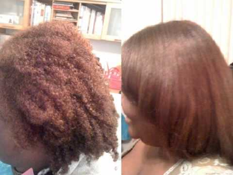 my brazilian keratin treatment experience on natural hair youtube