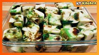 RAU CÂU SƠN THỦY - Cách Làm Rau Câu Ngon Giòn Đẹp Mắt || Agar Mixed Layers Recipe | KT Food