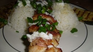 Shish Taouk & Garlic Lemon Sauce (Best on Youtube)