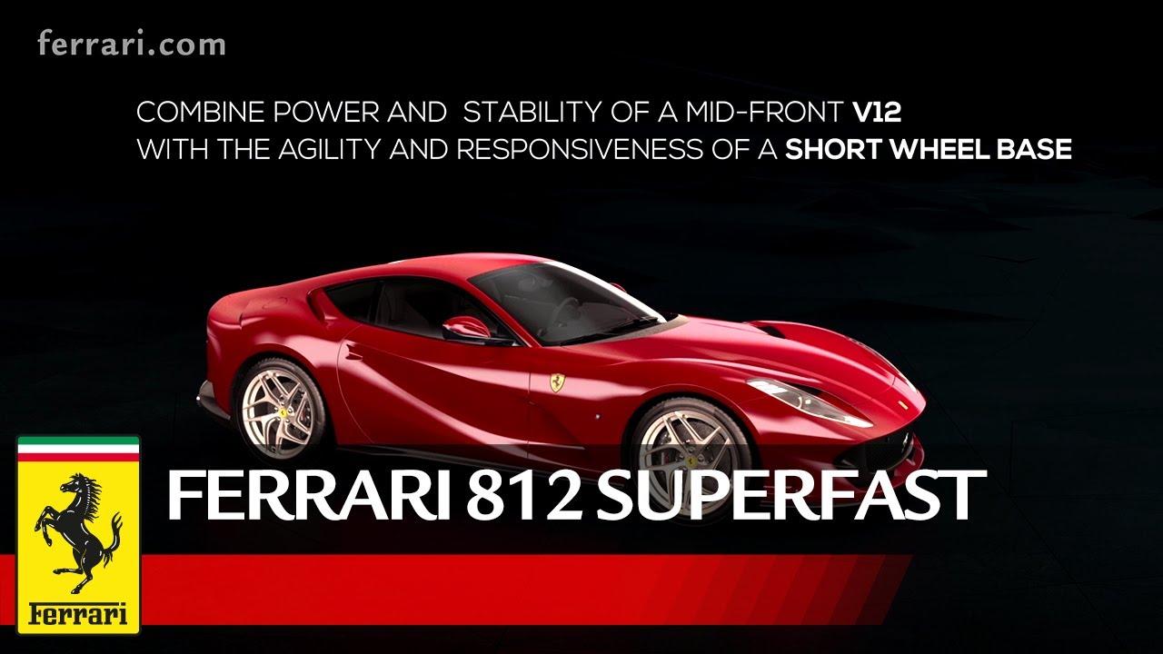 Ferrari 812 Superfast Vehicle Dynamic Youtube