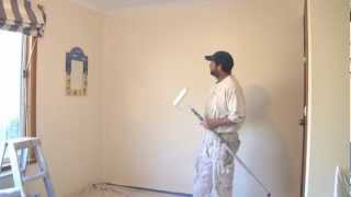 How To Paint A Wall Using A Roller (The Best Technique)