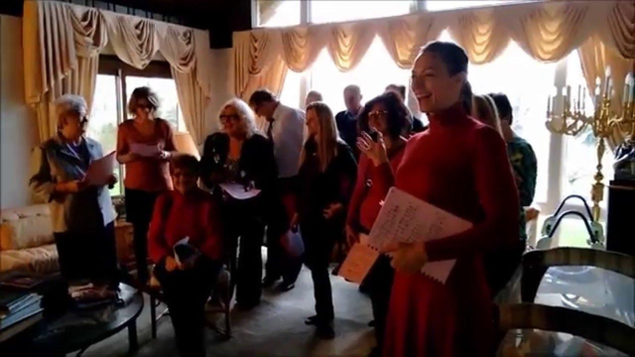 St. George Church Choir Christmas Caroling - 2015 - YouTube