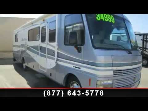 1999 fleetwood pace arrow vision motorhome for sale near for Motor homes los angeles